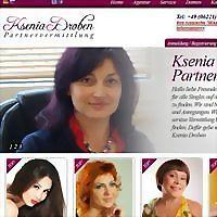 Logo 2) Ksenia Droben Partnervermittlung
