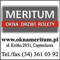 Logo 2) Okna Meritum