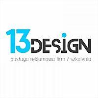 Logo 89) 13Design - Strony Www / Grafika