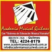 Logo 8) Academia Musical Quilmes
