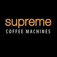 Logo 1) Supreme Coffee Machines