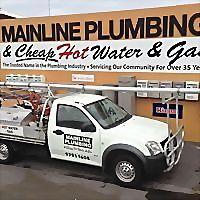 Logo 2) Mainline Plumbing