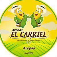 Logo 3) Arepas El Carriel