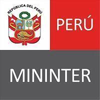 Logo 2) Ministerio Del Interior Del Perú