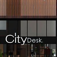 Logo 6) City Desk
