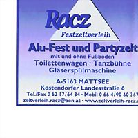 Logo 19) Zeltverleih Racz