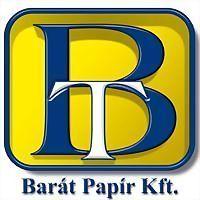 Logo 3) Barát Papír Kft / Www.barat.hu