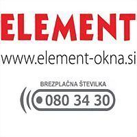 Logo 4) Element Okna, Vrata, Zimski Vrtovi, Senčila