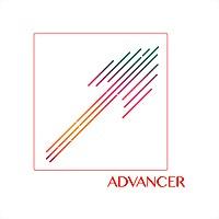 Logo 62) Advancer • ედვენსერი