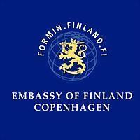Logo 7) Suomen Suurlähetystö Kööpenhamina - Finlands Ambassade København