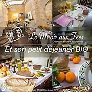 Logo 3) Le Miroir Aux Fées Chambres D'hôtes Bordeaux
