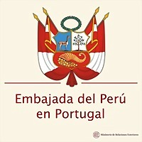 Logo 9) Embajada Del Perú En Portugal  /         Embaixada Do Perú Em Portugal