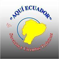 Logo 5) Aquí Ecuador
