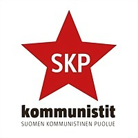 Logo 4) Suomen Kommunistinen Puolue - Skp