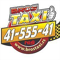 Logo 8) Bros Taxi Niš