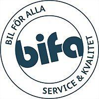 Logo 2) Bifa Ab Bilfirma