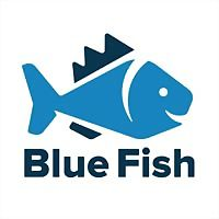 Logo 77) Blue Fish