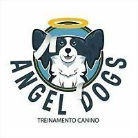 Logo 4) Angel Dogs Adestramento De Cães