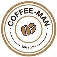 Logo 15) Coffee-Man - Любимый Кофе Украины.