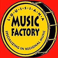 Logo 2) Louisiana Music Factory New Orleans