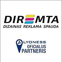 Logo 48) Diremta,  Dizainas Reklama Spauda