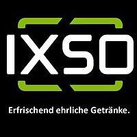 Logo 2) Ixso Erfrischend Ehrliche Getränke.