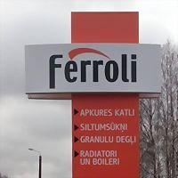 Logo 5) Ferroli Apkures Katli