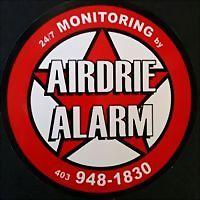 Logo 2) Airdrie Alarm