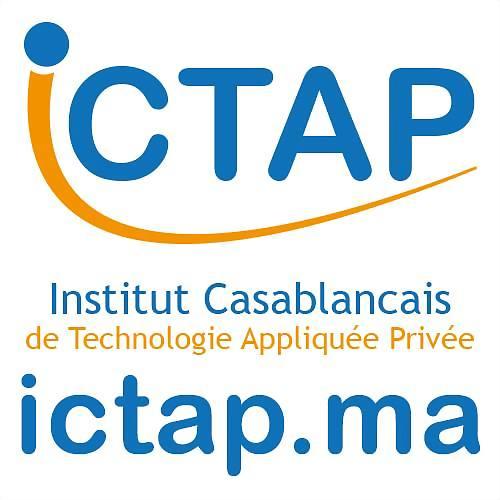 Logo 3) ICTAP, Institut professionnel Accréditée