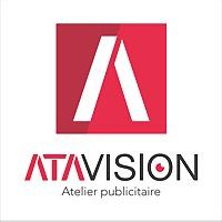 Logo 56) Ata Vision - Atelier Publicitaire