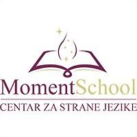 Logo 3) Moment School  Centar Za Strane Jezike