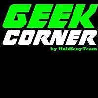 Logo 3) Geek Corner By Holdfény Team