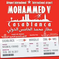 Logo 77) Aéroport De Casablanca
