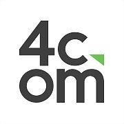Logo 19) 4Com