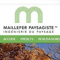 Logo 4) Maillefer Paysagiste Sa