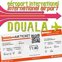 Logo 5) Aéroport International De Douala