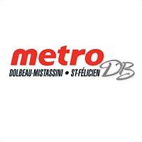 Logo 3) Métro D.boutin