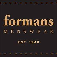 Logo 22) Formans Menswear
