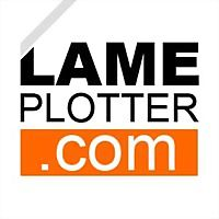 Logo 27) Lameplotter.com