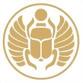 Logo 19) Gold  Beetle Ibiza Beachwear