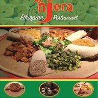 Logo 63) Enjera Ethiopian Cuisine የኢትዮጵያ ምግብ  Abidjan, Cote D'ivoire.
