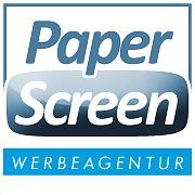 Logo 2) Paper@screen - Werbeagentur