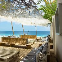 Logo 6) The Beach, Windsock Bonaire