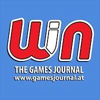 Logo 2) Gamesjournal.at - Win The Games Journal