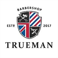 Logo 7) Trueman Барбершоп